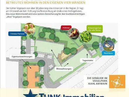 Barrierefreies Wohnen im Vogelpark!