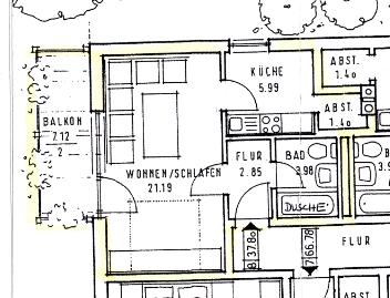 1 Zimmer Whg., Griesbach