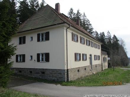 Ehemaliges Zollhaus an der Grenze zu Tschechien!