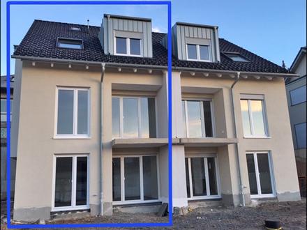 NEUBAU DHH: MODERN - HELL mit Süd-/West-Terrassen und Balkon in Haibach