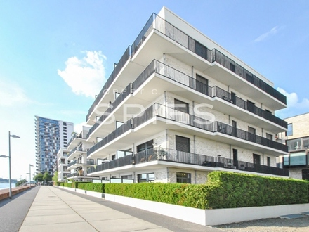 Moderne, hochwertige 3-Zimmer-Wohnung mit Garten und Weserblick