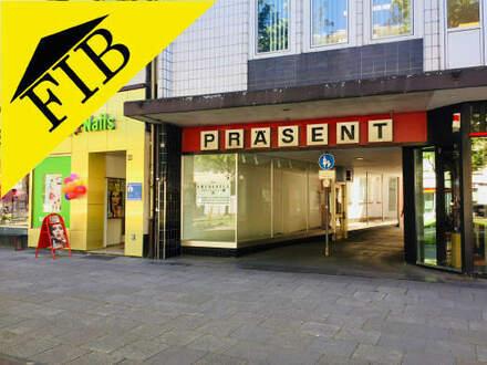 Gut sichtbares Ladenlokal in der Bielefelder Innenstadt, am Jahnplatz!