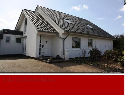 Einfamilienhaus mit ELW und Innenpool mit Sauna in 24610 Trappenkamp