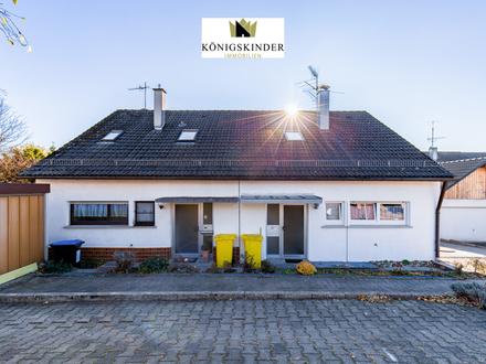 Provisionsfrei - viel Wohnfläche für wenig Geld. DHH mit toller Terrasse für die ganze Familie