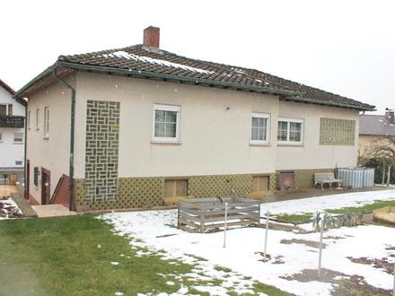 Einfamilienhaus mit Einliegerwohnung in ruhiger Lage von Beerfelden !!