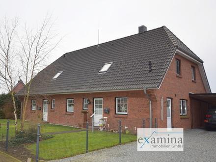 Doppelhaus mit ca. 97 m² und ca. 123 m² Wohnfläche in ruhiger Lage nahe Nordseedeich.