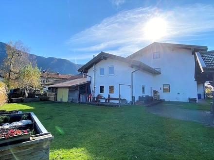 Hausteil mit 2 Wohnungen im 4-Fam.haus mit großem Garten und Garage