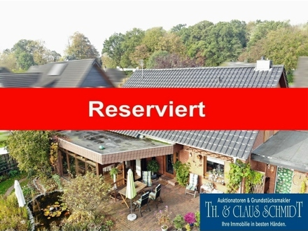 Reserviert: Modernisiertes Wohnhaus mit Wintergarten in ruhiger Lage von Rastede