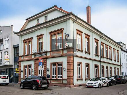 Gewerbeeinheit in historischem Gebäude im Zentrum von LU-Oggersheim