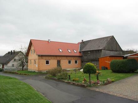 Einfamilienhaus (im Rohbauzustand) inkl. Schuppen in Thanhausen