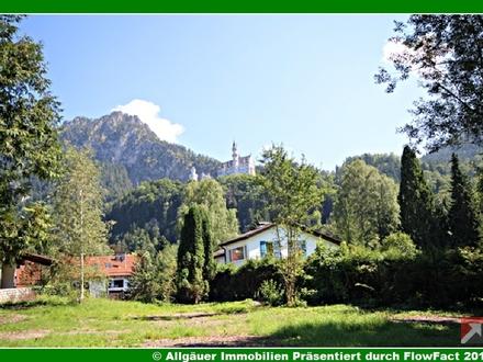 RARITÄT - Lage - Lage - Lage - Grundstück mit Sicht auf Schloss Neuschwanstein