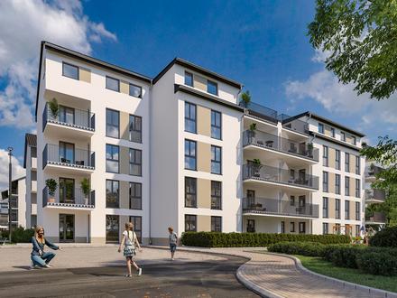 Neubau: Großzügige 3-Zimmer Etagenwohnung mit Loggia
