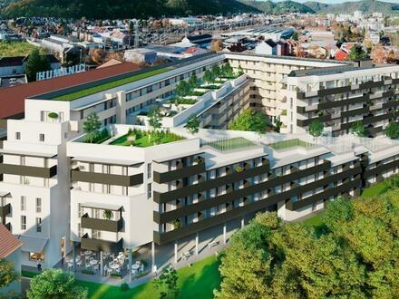 Mitten im Grünen, mitten im Leben, mitten in Graz. 3-Zimmer-Wohnung im letzten Stock mit Süd-Ost-Terrasse!