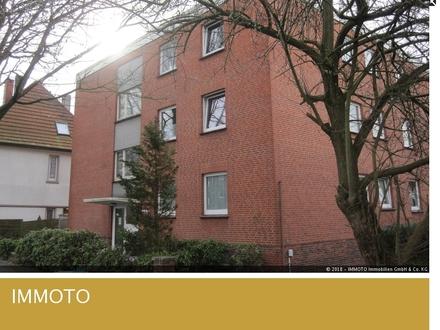 Helle 1,5 Zimmer-Dachgeschosswohnung mit Balkon in Oldenburg!