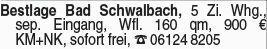 4-Zimmer Mietwohnung in Bad Schwalbach (65307)