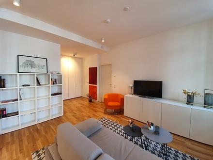 Einmalige Gelegenheit: Möblierte 2-Zimmer-Wohnung in der Neuen Frankfurter Altstadt