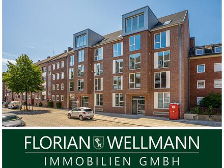 Bremen - Stephaniviertel | Moderne, hochwertige 2-Zimmer-Penthousewohnung mit Dachterrasse im Neubau!
