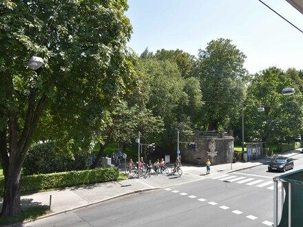Blick in Richtung Mirabellgarten