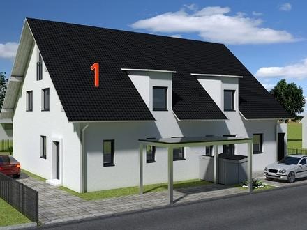 PROVISIONSFREI* - NEUBAU - voll unterkellerte Doppelhaushälfte in Ergolding - KfW55