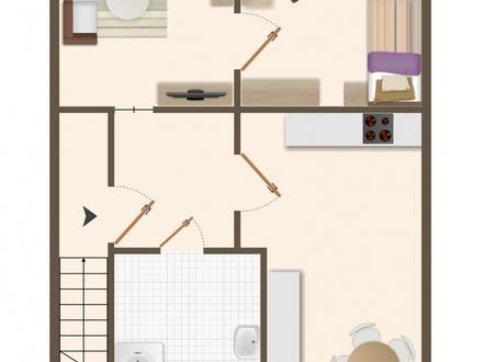 Heimelige Altbauwohnung mit Loggia