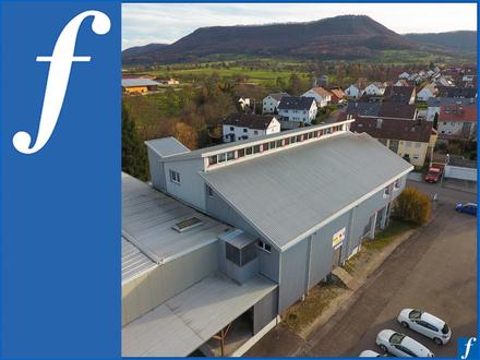 Produktions- und Bürogebäude mit Hochregallager * Rampe * Showroom