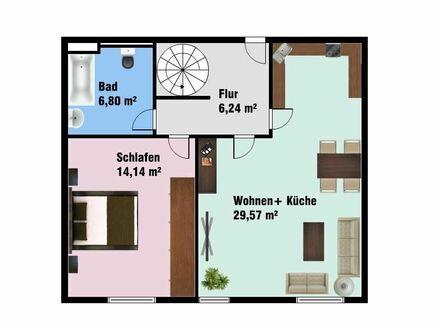 +++3-Raum-Wohnung mit Tiefgaragenstellplatz in Weißenborn +++