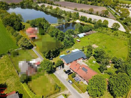 Einzigartiges Anwesen in zentraler Lage Ostfrieslands mit Seen und Bauland!