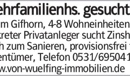 Wohnen in Gifhorn
