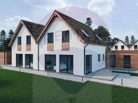 Schon gebaute,bezugsfertige Doppelhaushälfte mit Doppelcarport KFW55 ab 990€ mtl.möglich Beeil Dich