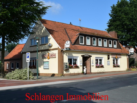 Objekt Nr.: 18/717 Gaststätte mit Restaurant und Biergarten im Feriengebiet Saterland/OT Scharrel