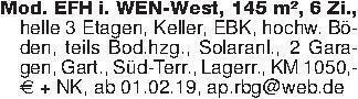 Mod. EFH i. WEN-West, 145 m²,...
