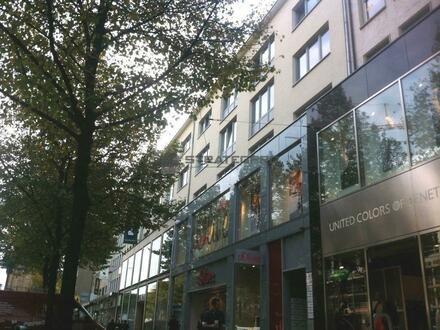 Mannheim Fußgängerzone: Büro in hochfrequentierter Lage - effektiver Grundriss