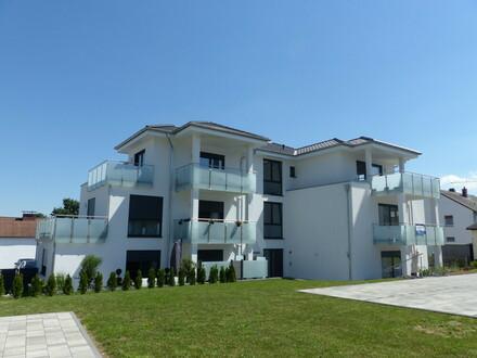 Schöne 2-Zi.-Neubauwohnung im Penthouse-Stil mit zwei Balkonen