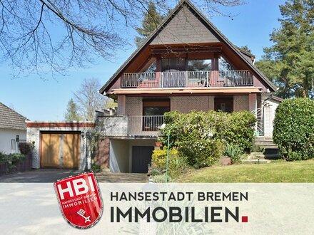 Schwanewede / Freistehendes Zweifamilienhaus in beliebter Lage