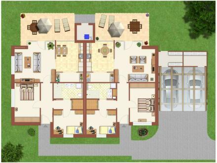 Provisionsfrei/Neubauvorhaben: Doppelhaushälfte im Bungalowstil in zentraler Lage von Schortens
