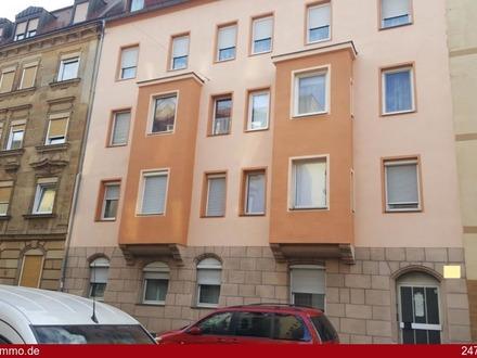 Schön geschnittene 3 Zimmer-Dachgeschosswohnung mit Balkon im Herzen von Nürnberg