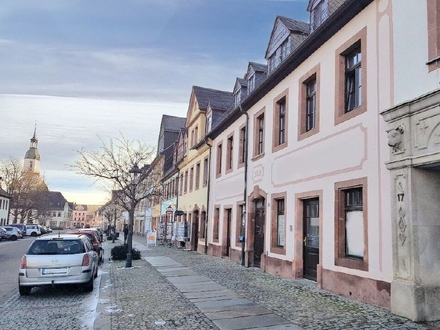 240 m² großer Laden im Stadtzentrum von Rochlitz zur MIETE