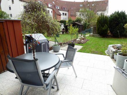 8 3 qm GARTEN Wohnung + herrliche SONNEN- TERRASSE inklusive Einbauküche und TIEFGARAGE