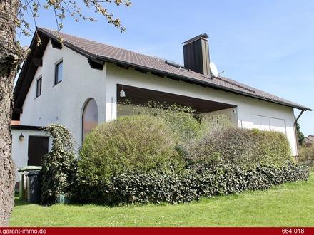 Solides und gepflegtes Einfamilienhaus mit sehr schönem Garten!