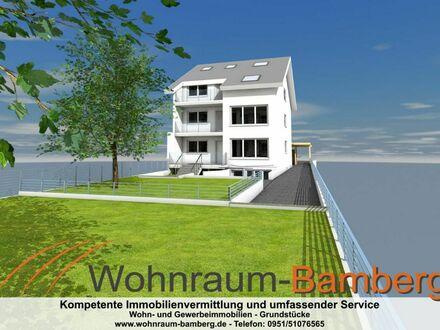 Mehrfamilienhaus: Moderne 3 Zimmer Wohnungen in Hallstadt Mitte mit großem Garten in ruhiger Lage