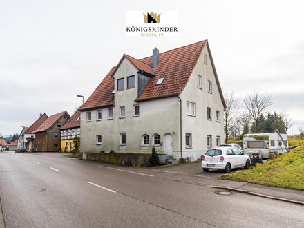 Ländliches 3-Familienhaus als Renditeobjekt oder zur Eigennutzung!