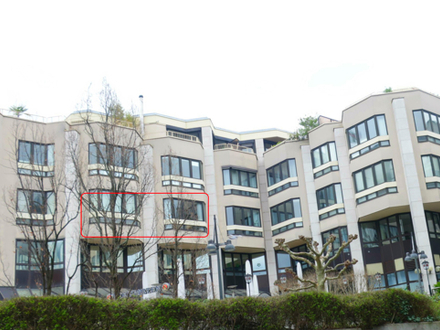 WIESBADEN - WILHELMSTRASSEN-BÜRO 125 m² 3.OG 3 Räume + Küche + Bad + WC + Lift +2TG-Stellpl.