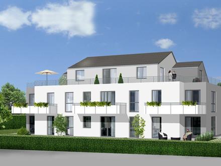 Wohn(t)raum für Jung und Alt = Neubau-Eigentumswohnung im EG mit Südterrasse und Garten
