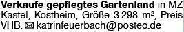 Freizeitimmobilie gewerblich in Mainz (55246)