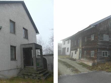 Großzügiges Wohnhaus und denkmalgeschütztes Bauernhaus mit Scheune !