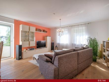 Moderne Wohlfühl-Wohnung mit zwei Balkonen.