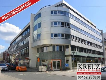 Repräsentative und hochwertige Büroflächen in zentraler Lage von Rüsselsheim.
