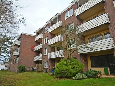 Renovierte und bezugsfreie Zweizimmer-Eigentumswohnung in beliebter Wohnlage von Oldenburg-Eversten