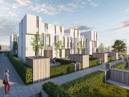Faszinierendes 5-Zimmer-Reihenhaus mit Privatgarten am Riedberg