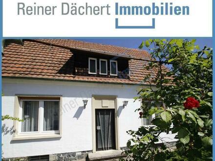 Einfamilienhaus im Dornröschenschlaf + Baugrundstück ... teilbar ...